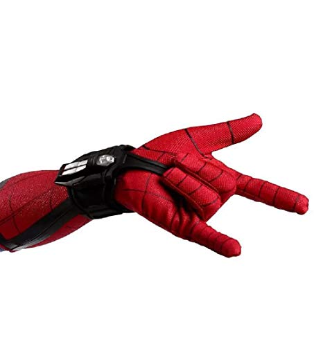 SevenJuly1 Superhero Bracers Launcher Battle Accessories Halloween Cosplay Prop (Best Spiderman Web Shooter)