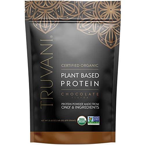 Truvani Plant Based Organic Protein Powder, Chocolate