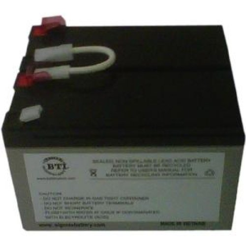 BATTERY TECHNOLOGY UPS Replacement Battery Cartridge / SLA109-BTI /