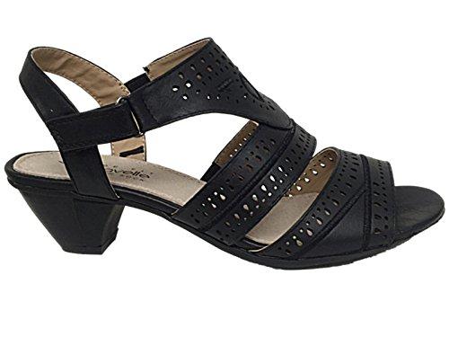 Foster Footwear - Zapatos con correa de tobillo mujer Black W