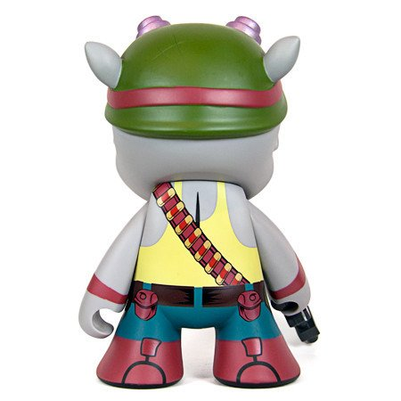 Amazon.com: Figura de Rocksteady: TMNT X Kidrobot ~ 7 ...