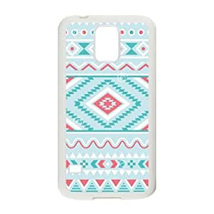 Nymeria 19 Customized Girly Floral Tribal Andes Aztec Print Diy Design For Samsung Galaxy S5 Hard Back Cover Case DE-111