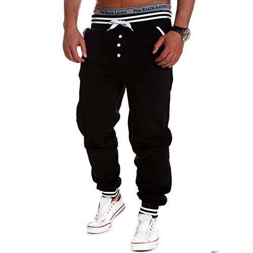 Chen Casual Hiphop Sweatpants Trousers