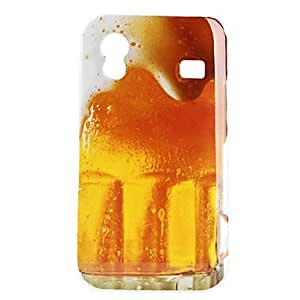 LIMME Beer Pattern Hard Case for Samsung Galaxy Ace S5830
