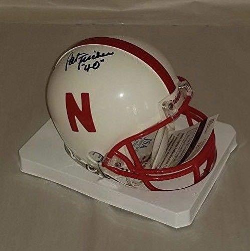 Pat Fischer Autographed Signed Memorabilia Nebraska Cornhuskers Mini Helmet - JSA Authentic