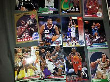 40 Basketball Hall-of-Fame & Superstar Cards Collection Including Players such as Michael Jordan, Magic Johnson, LeBron James. Ships in Protective Plastic Case Perfect for Gift Giving.