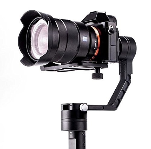 Zhiyun Crane 3-Axis Handheld Gimbal for DSLR & Mirrorless Cameras, CNC Aluminum Alloy Construction w/ 360° Brushless Motors (3 Axis Gimbal compare prices)