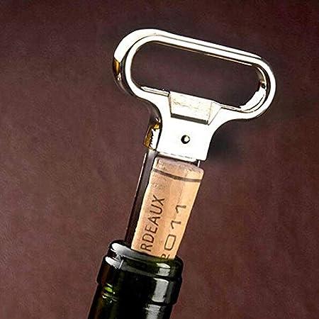 N\A Abridores de Botellas, de Dos Puntas de la Botella de Vino abridor Sacacorchos removedor de Dos Clavijas del Tirador del Corcho dañado Cork Remover Antiguo sacacorchos del Vino