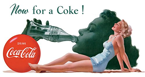 COKE Now Tin Sign 9in product image