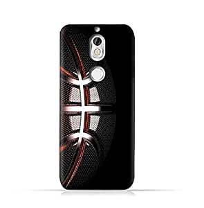 AMC Design Nokia 7 TPU Silicone Protective case with Basketball Texture Pattern