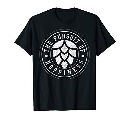 Beer Brewer T-Shirt - Craft Beer Hops IPA Hoppiness Gift