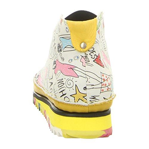 Clamp Lancelot Fashion Print/Yell - Mocasines de Piel para mujer print/yell