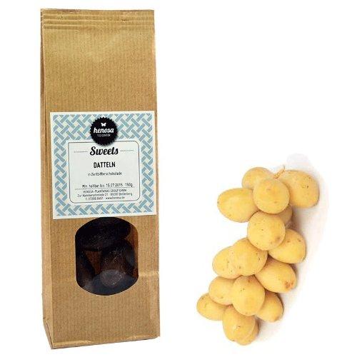 Henosa Datteln in Zartbitterschokolade