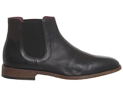 Poste Brunt Chelsea Habitus Skinn Boots wZqrnZAxYf