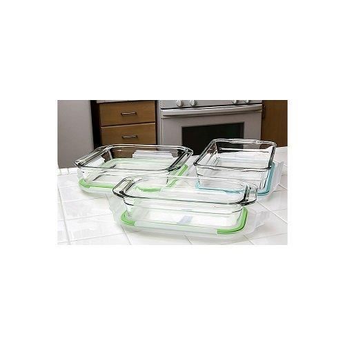 Glasslock 6-Piece Bakeware Set by GlassLock (Image #1)