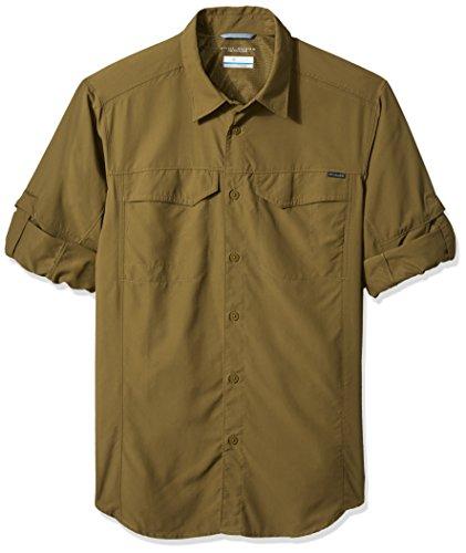 Columbia Men's Silver Ridge Long Sleeve Shirt, XX-Large, Trail - Basketweave Jacket