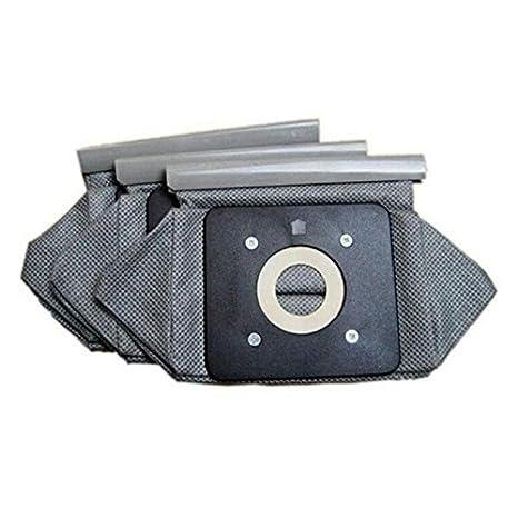 SODIAL Bolsa de Tela Universal Bolsas de aspiradora Reutilizables Adecuado para Philips Electrolux LG Haier Samsung etc 3 Piezas