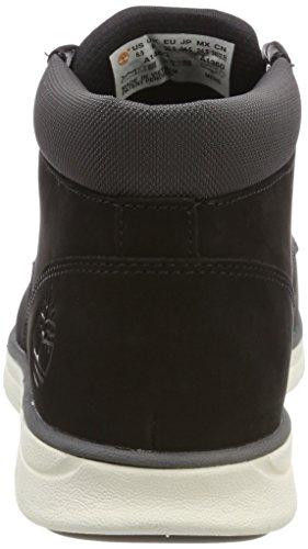 Sensorflex Timberland Homme Bottes Bradstreet Black Nubuck Chukka Leather Noir qrzrE
