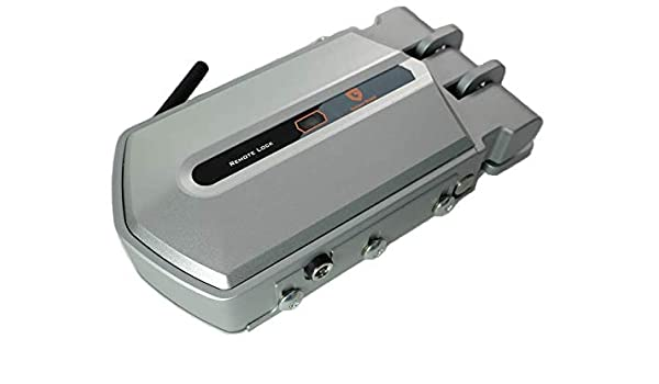 Golden Shield - Cerradura de seguridad invisible con 2 mandos: Amazon.es: Bricolaje y herramientas