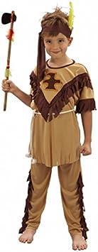 Disfraz de indio para niño 7 à 9 ans: Amazon.es: Juguetes y juegos