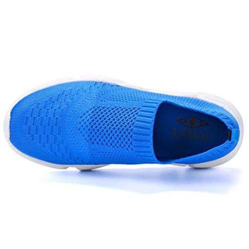Mujer Baja Malla Azul Qianliuk Zapatilla de ygpScWZq