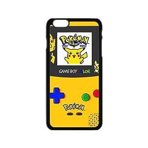 Pikachu Pocket Monster Pokemon Black iPhone plus 6 case