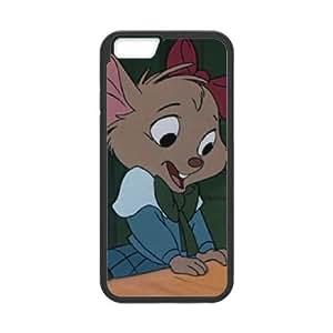 iPhone 6 Plus 5.5 Inch Cell Phone Case Black Disney The Great Mouse Detective Character Hiram Flaversham Xpmxz