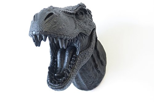 Near and Deer Faux Taxidermy T-Rex Dinosaur Head Wall, used for sale  Delivered anywhere in Canada