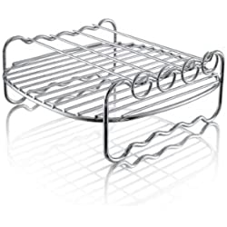 Philips HD9904/00 Double Layer Rack, Silver