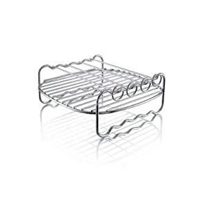 Philips Kitchen FBA_HD9904/00 Philips HD9904/00 Double Layer Rack with Skewers, for Compact Model Airfryers, Silver