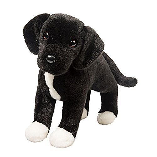 Black Lab Plush Toy - Douglas Toys Twister Black Lab Pit Bull Mix