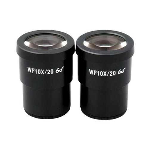 AmScope Pair of Super Widefield 10X Microscope Eyepieces (30mm)