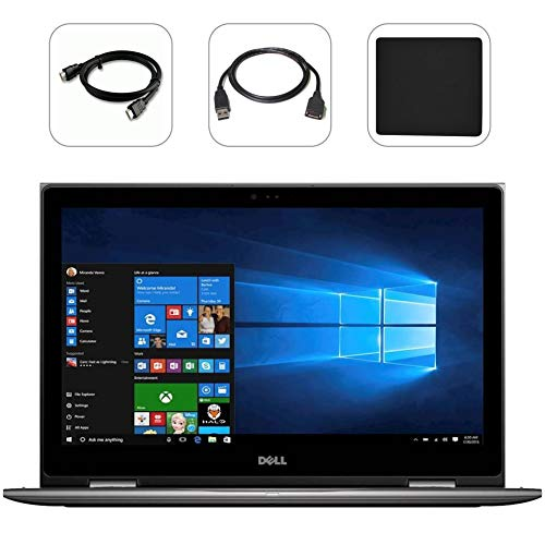 Tb 1 Usb Combo (Dell Inspiron i5 2-in-1 Quad-Core Premium Laptop 2018, FHD IPS 15.6