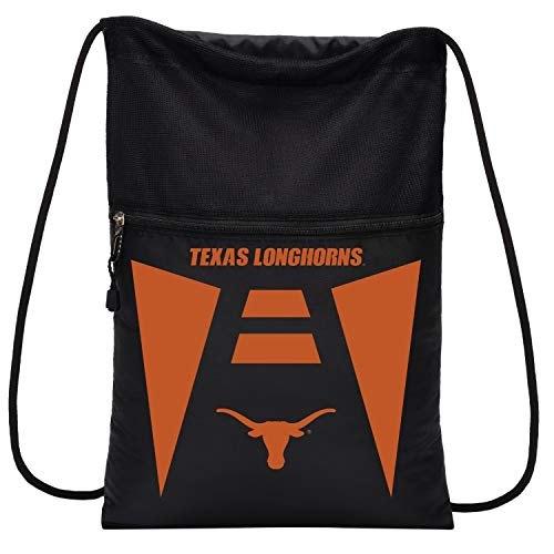 - Officially Licensed NCAA Texas Longhorns Team Tech Backpack Backsack, One Size