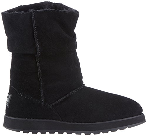 Skechers Keepsakes Freezing Temps Damen Halbschaft Stiefel Schwarz (Blk)