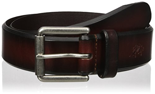 U.s. Polo Assn. Men's Men's Leather Belt, 1-1/2 Wide Bridle With Genuine Leather, brown, 32
