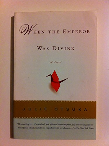 emperor was divine Julie otsuka was born and raised in california she studied art as an undergraduate at yale university, and pursued a career as a painter for several years before turning to fiction writing at the age of thirty she received her mfa in fiction at columbia university in 1999 her first novel, when the emperor was divine,.