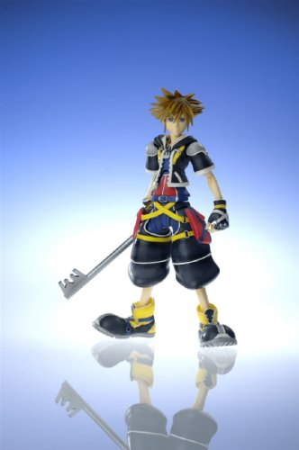 2 Arts Action Figure Play (Disney Square-Enix Kingdom Hearts 2 Series 1 Play Arts Action Figure Sora)