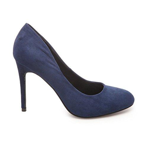 La Modeuse-zapatos de tacón para mujer, clásico Azul - azul