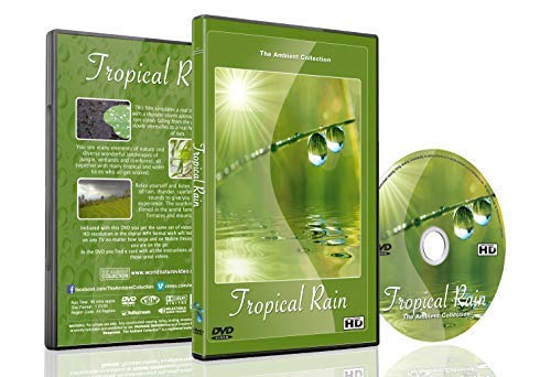 (Relaxing Nature DVD - Tropical Rain - Soothing Scenes with Thunder Sounds Filmed in the World Famous Bali Rice Terraces and Mountain Lakes)