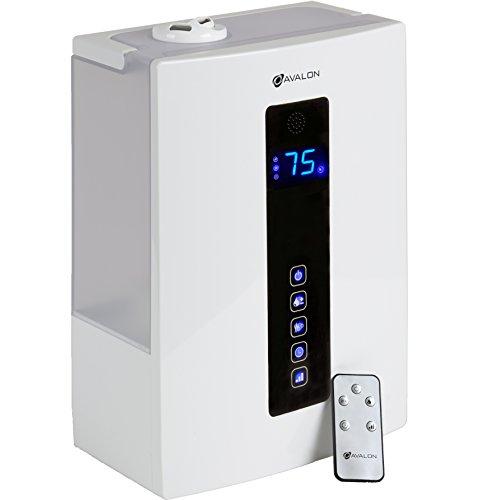 Tecnología de Avalon ultrasónico Digital cero ruido, ETL aprobado humidificador de vapor frío con control remoto y filtro