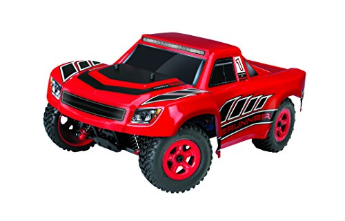 Traxxas LaTrax Electric 4WD Desert Prerunner Remote Control Race Truck with 2.4GHz Radio (1 18 Scale) - Red