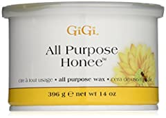 All Purpose Honee Wax By GiGi, Slight irritation is normal after any waxing session, but swollen, discolored or irritated skin could be the result of poor technique. Leaves skin sleek, smooth and free of hair. Gentle enough for delicate areas...