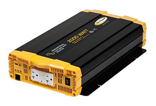 Industrial Pure Sine Wave Inverter - Go Power! GP-ISW2000-12