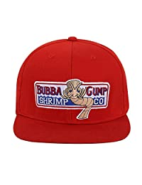 Okaeienen Bubba Gump Hat Shrimp Co. Embroidered Forrest Gump Baseball Cap Adjustable Snapback Hat