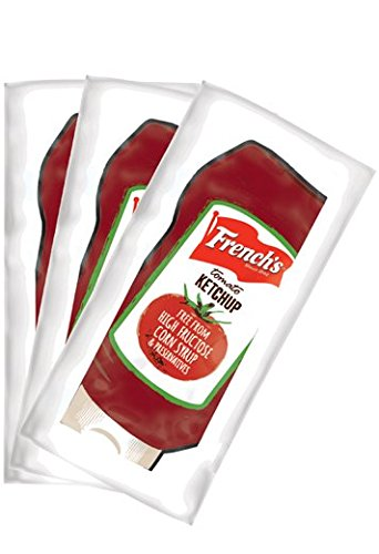 200 French's Ketchup 0.32 Packs Packets Restruaunt Break Room Condiments ()