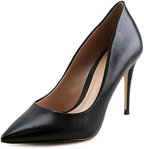 Aldo Uloaviel Women Pointed Toe Leather Black Heels