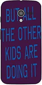 Snoogg But All The Other Kids Are Doing It 2916 Designer Protective Back Case...