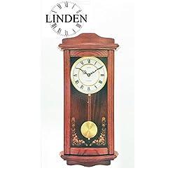 Linden Kipler Wall Clock with Westminster Chime - Model WOK-7082