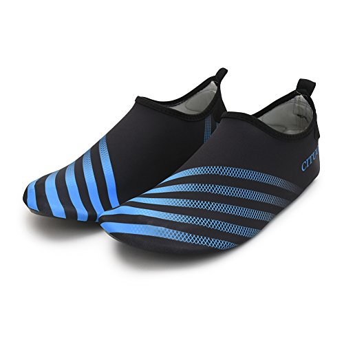 Aqua Barefoot Black Run Sports for Socks Swim Shoes with Yoga Chiximaxu Blue Adult ZqCtxnwAnp